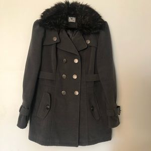 Worthington Wool-Blend Peacoat